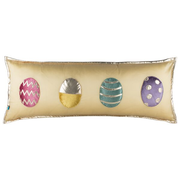 Felice Eggstra Pillow Cover by The Holiday Aisle
