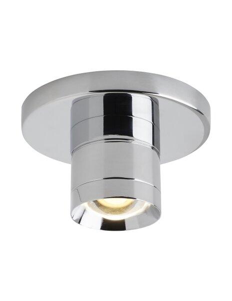 Crum 1-Light LED Semi Flush Mount by Orren Ellis