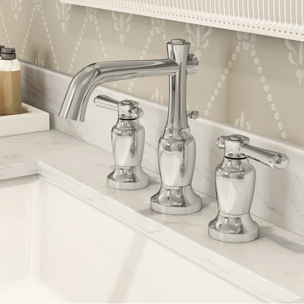 Degas Widespread Bathroom Faucet with Drain Assembly by Symmons