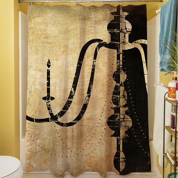 Chandelier II Shower Curtain by Manual Woodworkers & Weavers