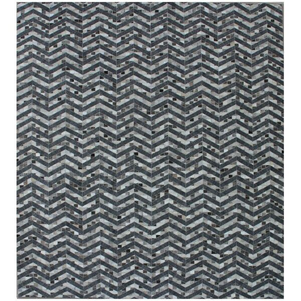 One-of-a-Kind Berlin Hand-Woven Black/Gray Area Rug by Exquisite Rugs