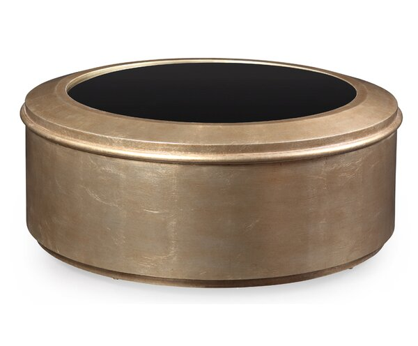 Rodger Drum Coffee Table by Willa Arlo Interiors