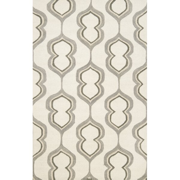 Guillemani Hand-Woven Wool Ivory Area Rug by nuLOOM