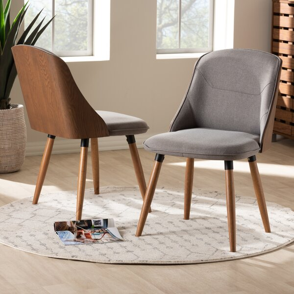 Brogdon Upholstered Dining Chair (Set of 2) by George Oliver