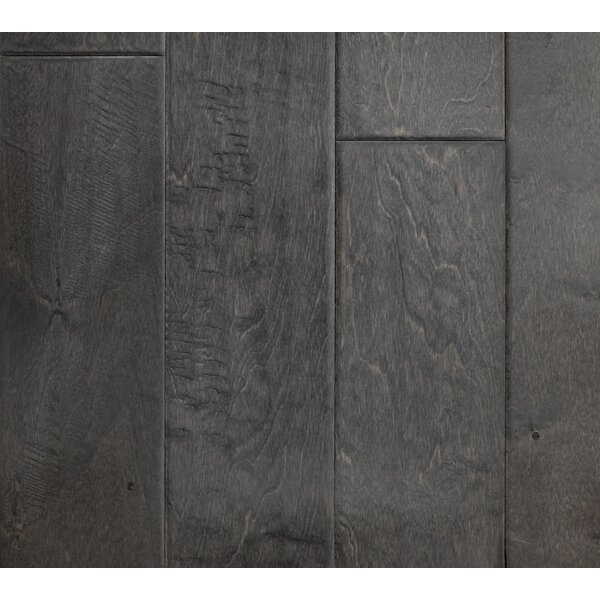 Modern Home 5 Engineered Birch Hardwood Flooring in Steel by Albero Valley