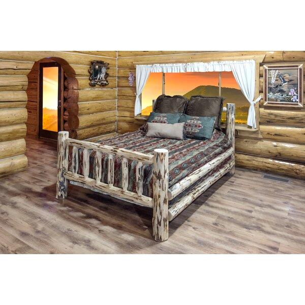 Tustin Solid Wood Low Profile  Standard Bed by Loon Peak Loon Peak