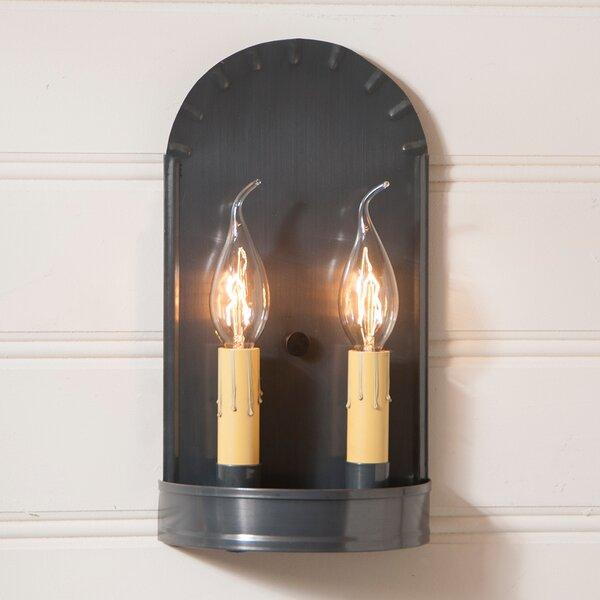 Villa D'Este 2-Light Candle Wall Light by Gracie Oaks