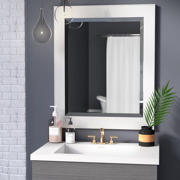 Ivor Bathroom/Vanity Wall Mirror by Wade Logan