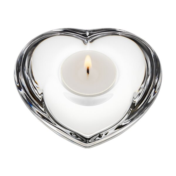 Amour Crystal Tealight Holder by Orrefors