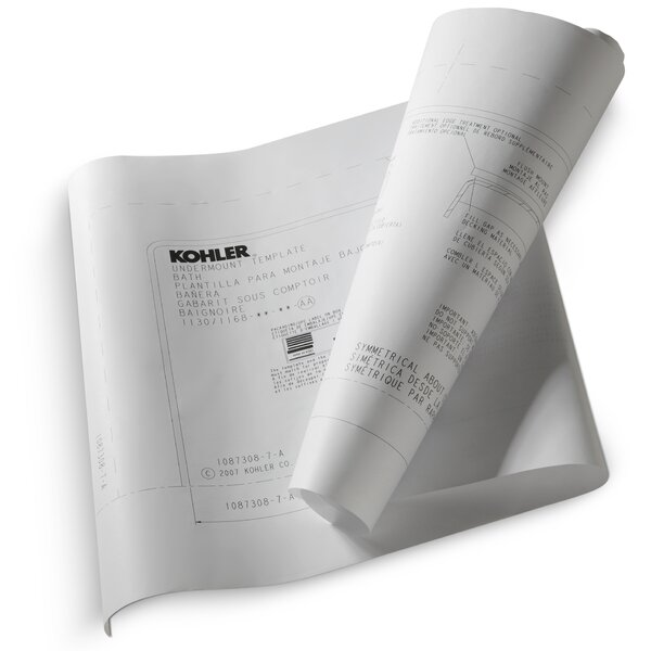 Tea-For-Two Under-Mount Installation Kit for Use with Tea-For-Two Bath and Whirlpool by Kohler