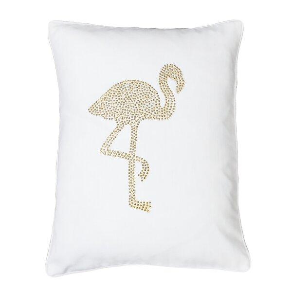 Elva Flamingo Lumbar Pillow by Bayou Breeze