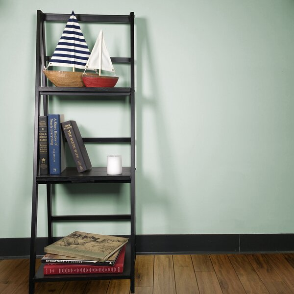 Foldable Sladder Bookcase by JIA HOME