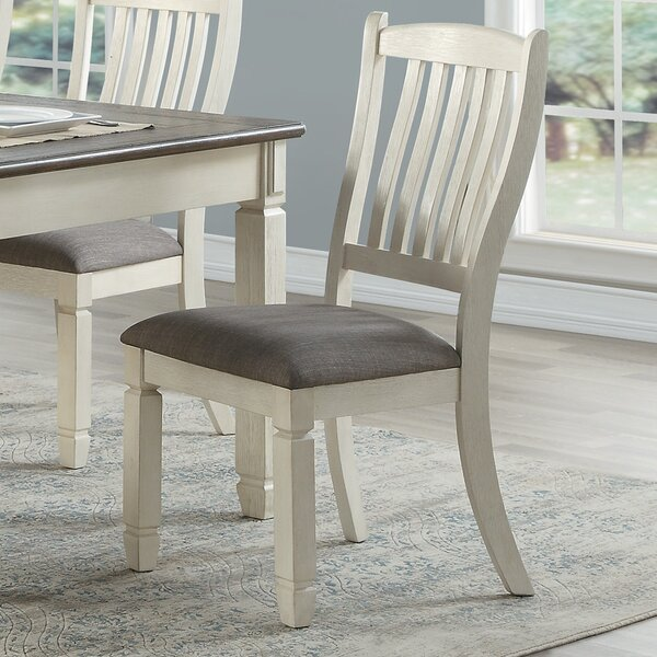 Kaley Upholstered Dining Chair (Set of 2) by August Grove