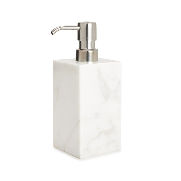 Marmol Lotion Dispenser by Kassatex Fine Linens
