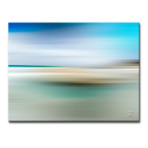 'Blur Stripes XIII' Graphic Art on Canvas by Ready2hangart