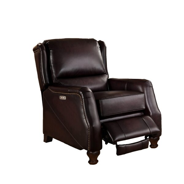 Imperial Leather Power Recliner with USB Port by Amax