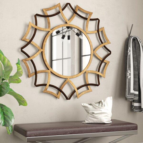 Collie Wall Mirror by Mercury Row