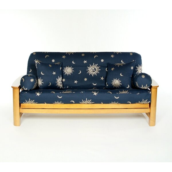 Infinity Box Cushion Futon Slipcover by Lifestyle Covers