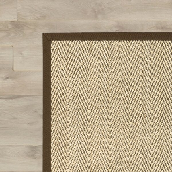 Genevieve Brown/Beige Area Rug by August Grove