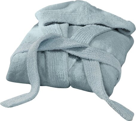 Huxley Turkish Cotton Hooded Bathrobe