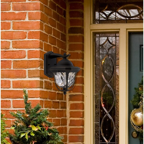 Kugler 1-Light Outdoor Wall Lantern by Charlton Home