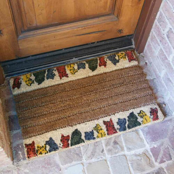 Kitty Cat Doormat by Rubber-Cal, Inc.