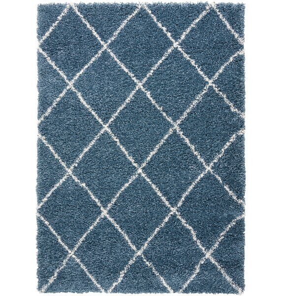 Puyallup River Slate Blue Area Rug by Red Barrel Studio