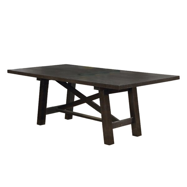 Trosclair Drop Leaf Solid Wood Dining Table by Gracie Oaks Gracie Oaks