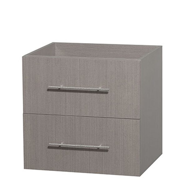 Centra 24 Single Bathroom Vanity Base by Wyndham Collection