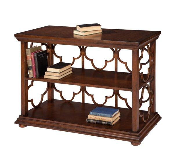 Crowland Quadrifoil Standard Bookcase by Fleur De Lis Living