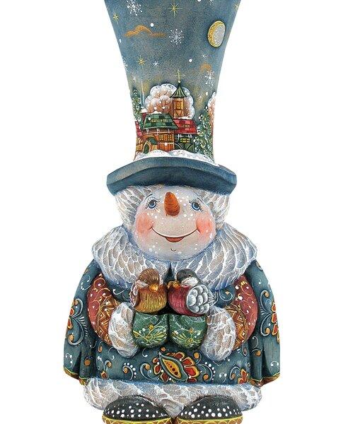 Decorative Frosty Carolers Scenic Ornament by Designocracy