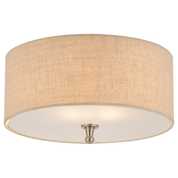 Semi flush mount ceiling lights youll love wayfair aloadofball Image collections