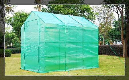 Outsunny 6 Ft. W x 8 Ft. D Greenhouse by Outsunny