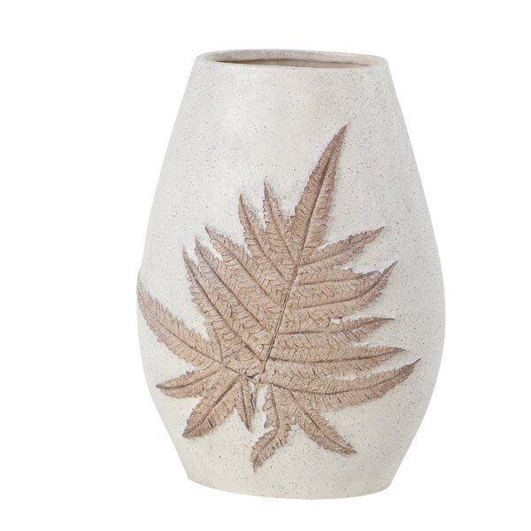 Gatling Modern Polystone Leaf Table Vase by Gracie Oaks