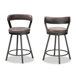Flint 32 Swivel Bar Stool Set Of 2