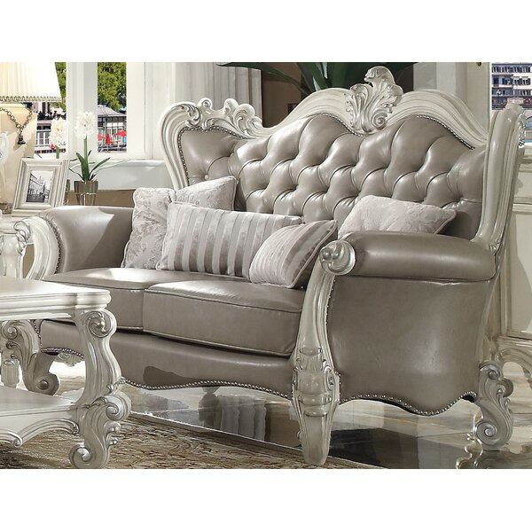 Excellent Reviews Timothy Standard Loveseat with 4 Pillows by Astoria Grand by Astoria Grand