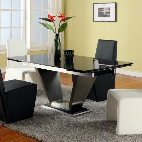 #1 Jessy Dining Table By Chintaly Imports Sale