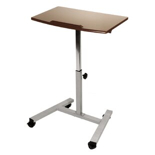 Inexpensive Tilting Mobile Adjustable Standing Desk By Seville Classics