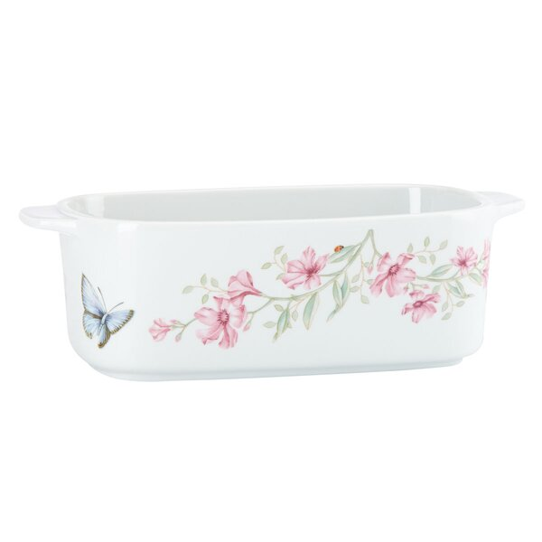 Butterfly Meadow Loaf Pan by Lenox