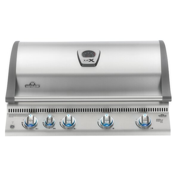 Lex 5-Burner Built-In Gas Grill by Napoleon