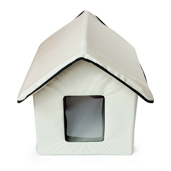 Portable Heated Indoor Dog House by ALEKO