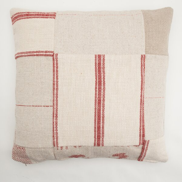 Patchwork Throw Pillow by Provence Home Collection