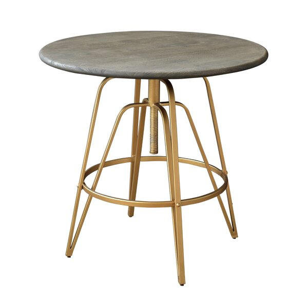 Savoy Adjustable Pub Table by Everly Quinn