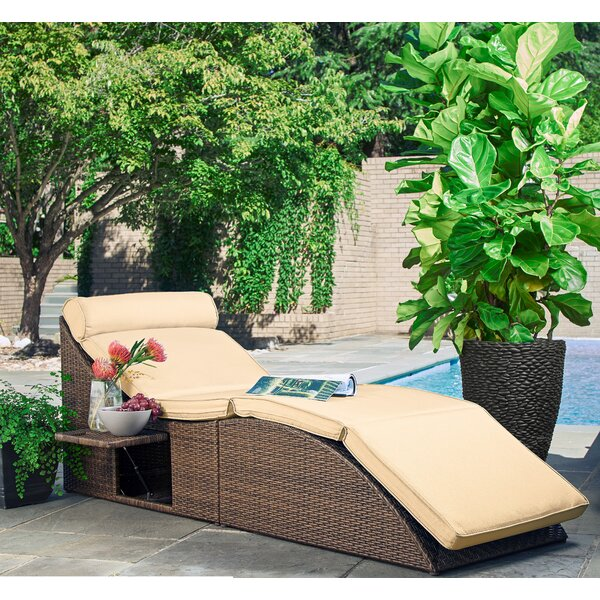 Volker Pool and Deck Convertible Chair with Cushion by Brayden Studio
