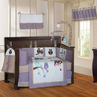Affordable Six Owl 10 Piece Crib Bedding Set By Harriet Bee