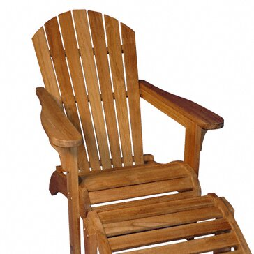 Teak Adirondack Chair by Regal Teak