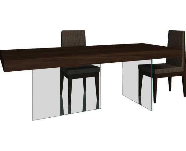 Perrone Modern Dining Table by Brayden Studio