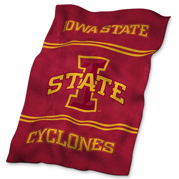 Iowa State Ultra Soft Throw by Logo Brands
