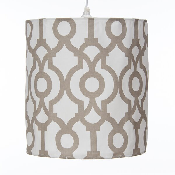 Soho Hanging 14 Fabric Drum Pendant Shade by Sweet Potato by Glenna Jean