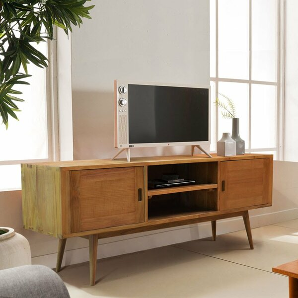 Halesowen Solid Wood TV Stand For TVs Up To 70